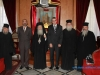 Commemorative photograph from the ambassador\'s visit to the Patriarchate