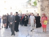 His Beatitude and the Prime Minister on their way to the All-holy Church of the Resurrection