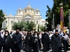 The Holy Procession in the vicinity of the Church of the Holy Trinity