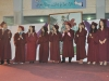 Graduates at the ceremony
