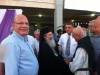 His Beatitude greeting participants at the event