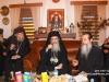 His Beatitude with Hegoumen f. Eirinarchos