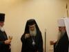 His Beatitude and Metropolitan Barsanoufrios, making a toast