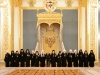 Commemorative photograph of the Prelates with President Putin