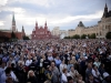 Concert, commemorating the anniversary, at the Red Square