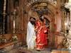 "Deacon Agapios during the ""Bless those who praise You…"""