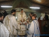 The Metropolitan of Bostroi at the divine liturgy