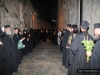 Rows of the Fathers of the Holy Sepulchre follow