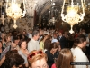Devout pilgrims at the Bier of the Mother of God