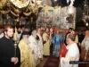 His Beatitude & retinue at the Divine Liturgy