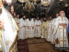 Priests participating in the Divine Liturgy