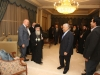 His Beatitude and Mr Ensour at the Prime Minister's residence