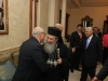 His Beatitude with the Prime Minister and other officials