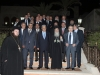 Commemorative photograph with His Beatitude and Mr Ensour