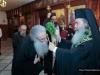 His Beatitude blessing the Principal, f. Fotios