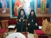 His Eminence, the Archbishop of Lydda, and the Hegoumen, f. Nektarios