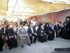 His Beatitude and retinue, and officials in Birzeit