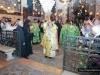 His Beatitude carrying the Venerable Cross