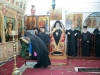 His Beatitude officiating at the chapel of St Thekla