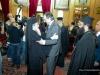 His Beatitude welcoming Mr Samaras