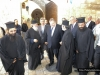Mr Venizelos welcomed at the Patriarchate's Gate
