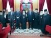 Commemorating photograph from Mr Venizelos' visit