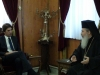 His Beatitude with Mr Triantis, Special Secretary on Water Resources