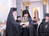 His Beatitude accepting the wishes of the Russian Spiritual Mission