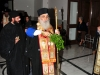 The Metropolitan of Bostroi consecrating the new Exarchy