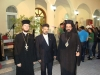 His  Eminence Makarios, Archbishop of Qatar, f. Leontios and a member of the congregation