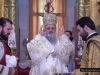 The Archbishop of Lydda leading the divine Liturgy