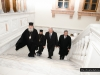 Mr Avramopoulos and the Patriarchal Commissioner at the Patriarchate