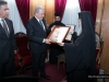 His Beatitude offers an icon to Mr Avramopoulos