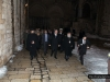 The Minister and the Patriarchal Commissioner exiting the All-Holy Sepulchre