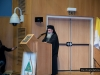 His Beatitude, Patriarch Theophilos, addresses those present