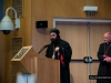 The Syrian Bishop addresses those present