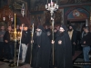 Monks of St Savvas Monastery during the holy Service
