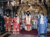 The conclusion of the Divine Liturgy