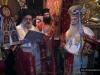 The Archbishop of Sevasteia reading the gospel in Arabic