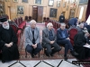 Waqf representatives in the Hall of the Throne