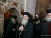 His Beatitude at the pilgrimage site of the prison of the Apostle Peter
