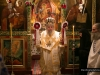 The Archbishop of Constantina during the Divine Liturgy