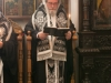 The Archbishop of Kapitolias reading out wishes