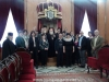 The Metropolitan of Nazareth, Ms Afaf, Community Members with HB