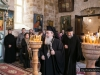 His Beatitude in the Monastery of St Charalampos