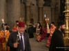 Metropolitan Isychios, and deacons, incensing around the Holy Sepulchre