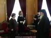 His Beatitude, the Archbishop of Constantina and Ms Randa Siksek