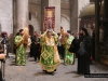 The Holy Procession, the Archbishop of Gerassa carrying the Cross