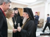 His Beatitude blesses lunch with the Greek Consul-General