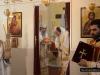 His Beatitude and retinue at the Divine Liturgy